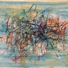 Bez tytułu, olej, płótno, 88,5x118, 1959
