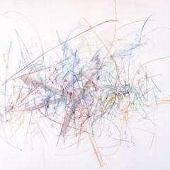 Bez tytułu, akwarela, płótno, 120x150, 1960