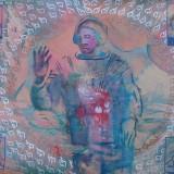 GESTY, 2003, technika mieszana, 70 - 100 cm