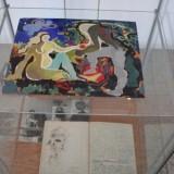 wystawa Lecha Kunki, Szkice Paryskie, Galeria Blok, ASP w Łodzi, 2011
