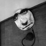 Dmuchana glowa, fotoobiekt interaktywny, 1971