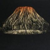 Medytacja II, collografia, wypukłodruk, 20 - 15 cm, 2011