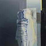 Bez tytułu, olej i akryl na płótnie, 130 cm x 110 cm, 2014