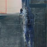 Bez tytułu, akryl na płótnie, 140 cm x 100 cm, 2014