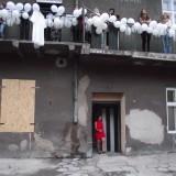 Każdy dom potrzebuje balkonu, instalacja, performance, Jaworzno 2012