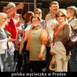 Polska wycieczka w Pradze