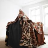 Jaskinia, instalacja, Memory Project, Łódź - Nowy Orlean