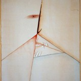 Polifem, techika: suchoryt, akryl,  1999, wymiary: 65 x 52