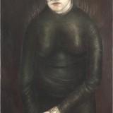Bez tytułu, 2005, płótno, olej , 81,5x55,5cm.