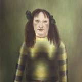 Bez tytułu, 2003r płótno, olej , 81x65cm. (kolekcja prywatna)