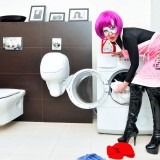Superwoman - pranie 2009