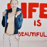 Life is Beautiful,  81x100, 2010