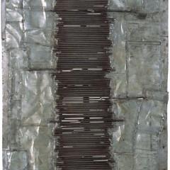XXVII, drewno, metal, 52 x 45, 1965