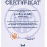 Atest, certyfikat