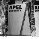 Apel osobisty, Galeria Ślad, performance, Łódź, 1979